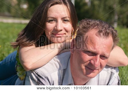 Portrait Of Happy Husband And Wife