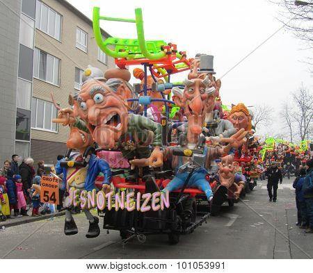 Carnival Float Aalst 2015