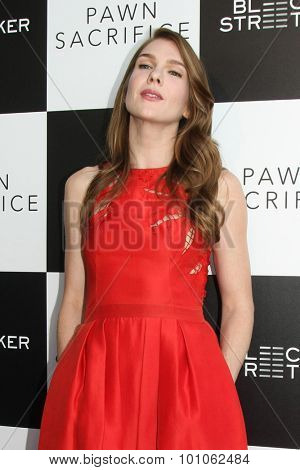 LOS ANGELES - SEP 8:  Lily Rabe at the