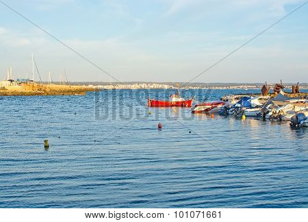Small Boats Moored