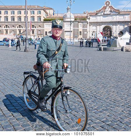 Uniformed Policeman Historical