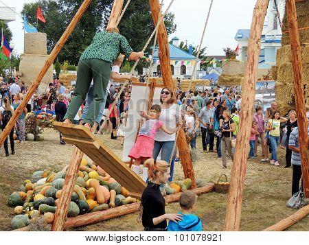 Enjoy On The Big Swing