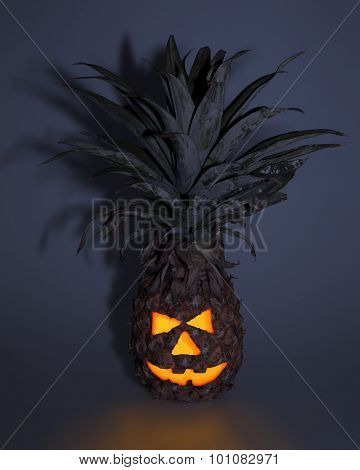 Pinapple Helloween Decoration