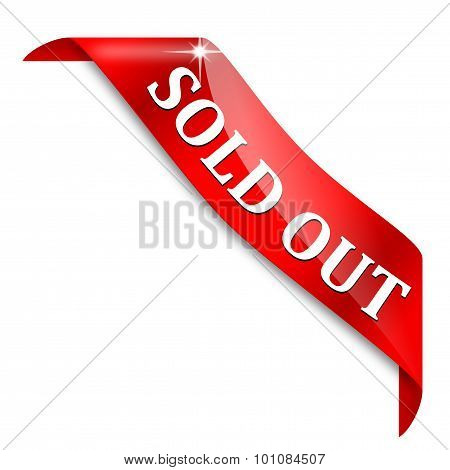 Red Tape With The Words - Sold Out