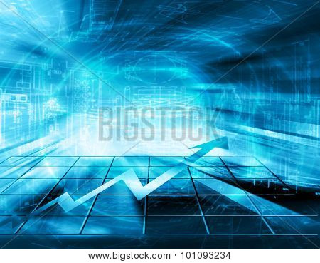 Best Internet Concept of global business. Glowing lines on technological background. Electronics, Wi-Fi, rays, symbols of the Internet, airwaves, television, mobile and satellite communications