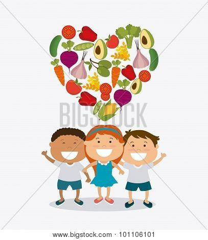 Kids nutrition design.