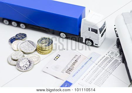 Lorry Tachograph And Money....