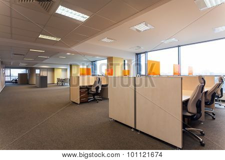 Open Space In The Office