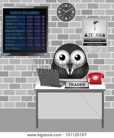 Stocks and Shares Crash