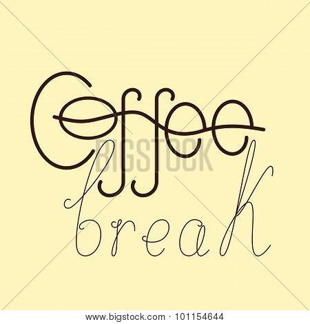 Coffee Break Lettering