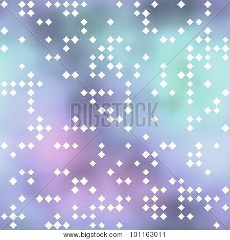 Seamless Pattern With Rhombus Motif