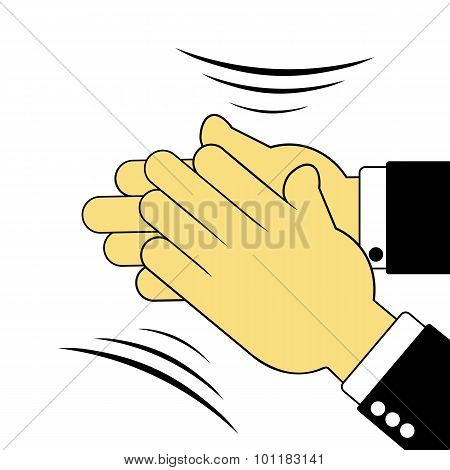 Sign Of Applauding Hands