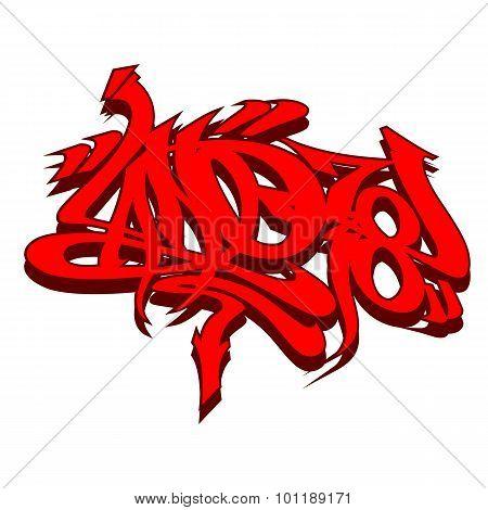 Graffiti Tagging Style