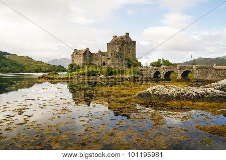 Dornie, Scotland September 2nd - Eilean Donan Castle.