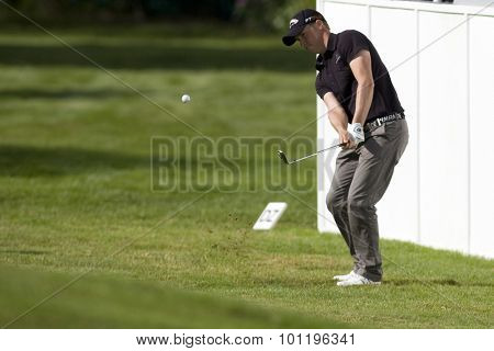 WENTWORTH, ENGLAND. 23 MAY 2009.Alexander NOREN SWE  playing in the 3rd round of the European Tour BMW PGA Championship.