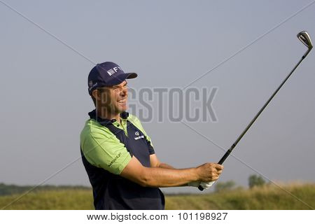 PARIS FRANCE, 02 JULY 2009. Padraig Harrington (IRL) competing in the 1st round of the PGA European Tour Open de France golf tournament.
