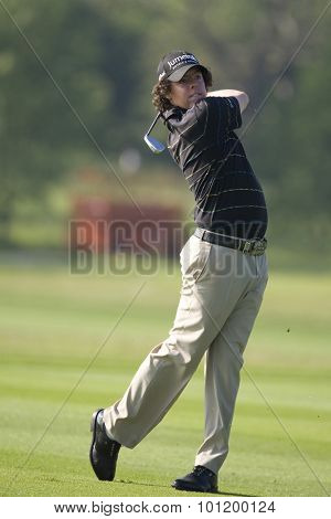 KENT ENGLAND, 29 MAY 2009. Rory MCILROY (GBR) playing in the second round of the European Tour European Open golf tournament.