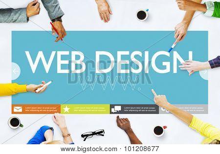 Www Web Design Web Page Website Concept poster
