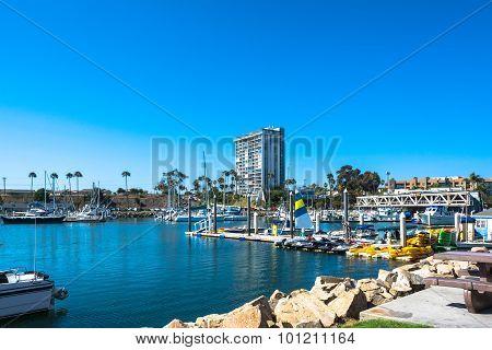 Marina at Oceanside, California