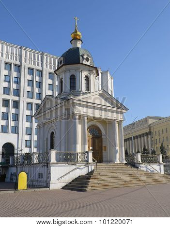 Temple-chapel of the Holy Princes martyrs Boris and Gleb in Moscow