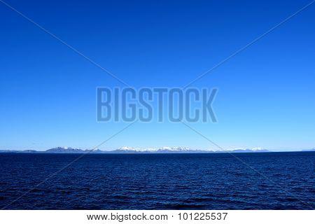 Blue horizon in Northern Norway