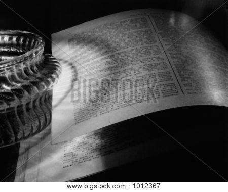 Candlelit Book