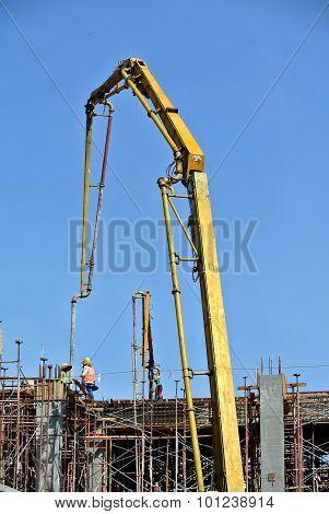 Elephant Crane or Concrete Pump Crane