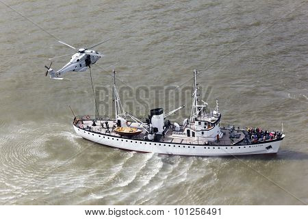 Rescue Helicopter Navy
