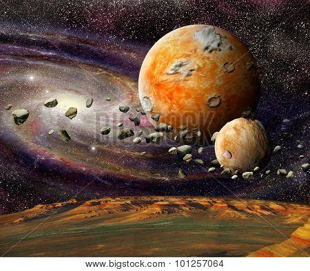Alien Planets In Space
