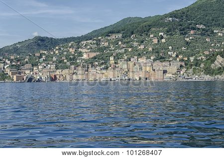 View Of The Village Of Camogli