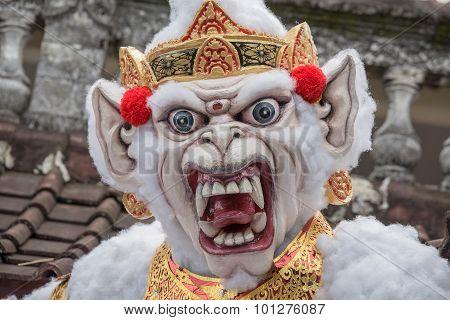 Ogoh-ogoh Statue In Bali, Indonesia