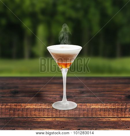 Mead Raf On Wooden Table