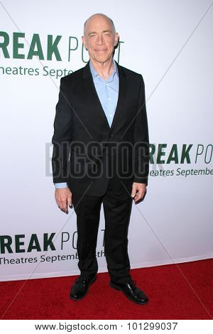 LOS ANGELES - AUG 27:  J.K. Simmons at the