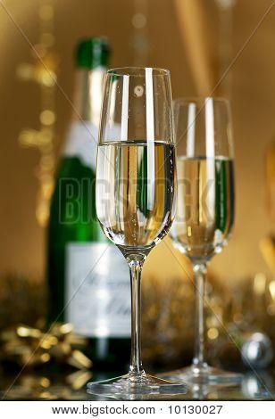 Wine. Champagne