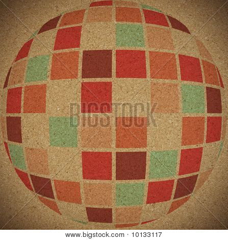 Abstract Old Colors Background