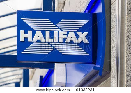 Halifax High Street Banking Sign