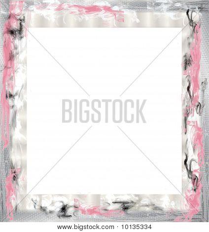 Pink Mystery Border