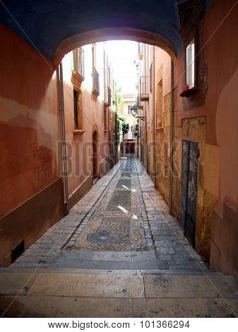 Sta. Tecla backstreet (Tarragona)