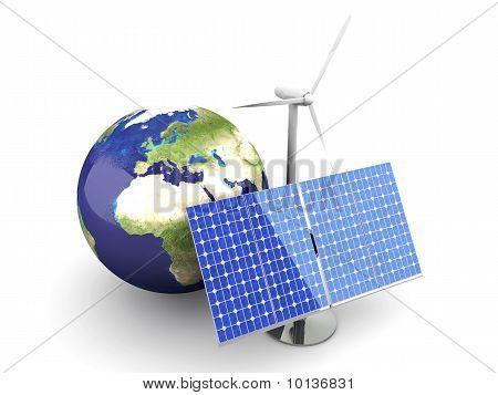 Alternative Energie - Europa