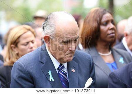 Former mayor Rudy Giuliani