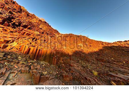 Organ Pipes - Twyfelfontein, Damaraland, Namibia