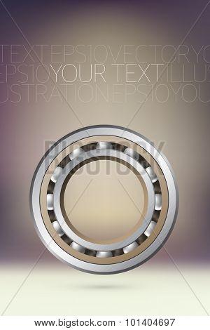 vector bearings illustration