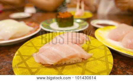 Toro sushi Japanese food