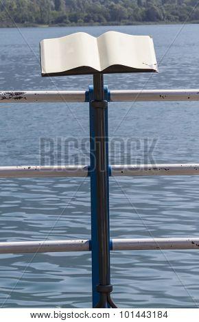 Lectern On The Lake Shore