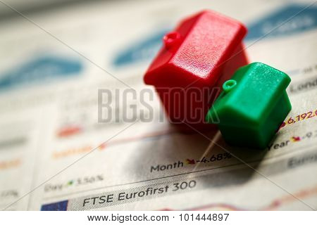 Housing Models And Sinking Stock Market Prices