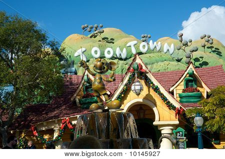 Toontown at Disneyland