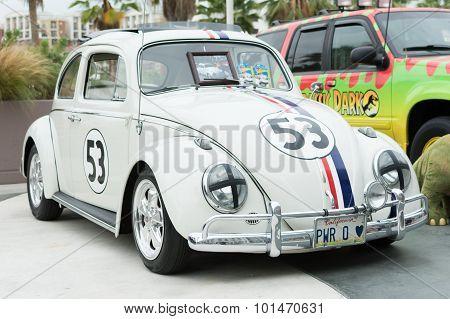 Volkswagen Herbie Beetle On Display