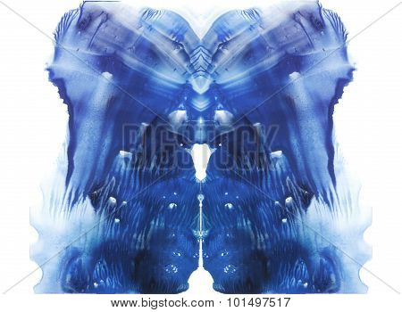 Rorschach. Abstraction background.