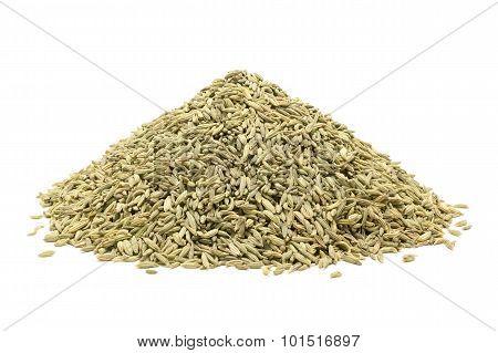 Pile of Organic Aniseed.