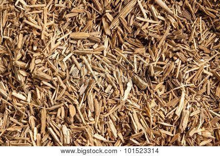 Resinous granules or powder of Agarwood.